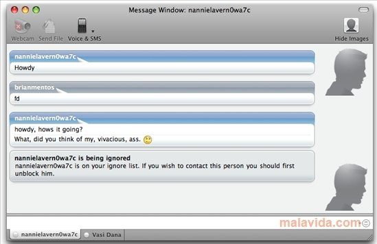 Opinions about Yahoo Messenger for Mac