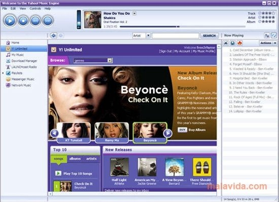 Yahoo! Music Jukebox 2 0 2 049 - Download for PC Free
