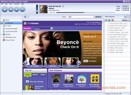 Yahoo! Music Jukebox 2 0 2 049 - Download for PC Free