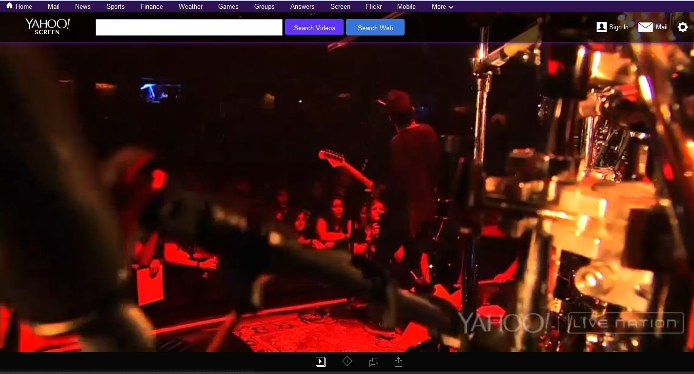 Yahoo! Screen Live Webapps image 5