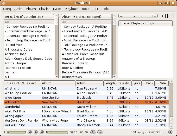 Yamipod download free.