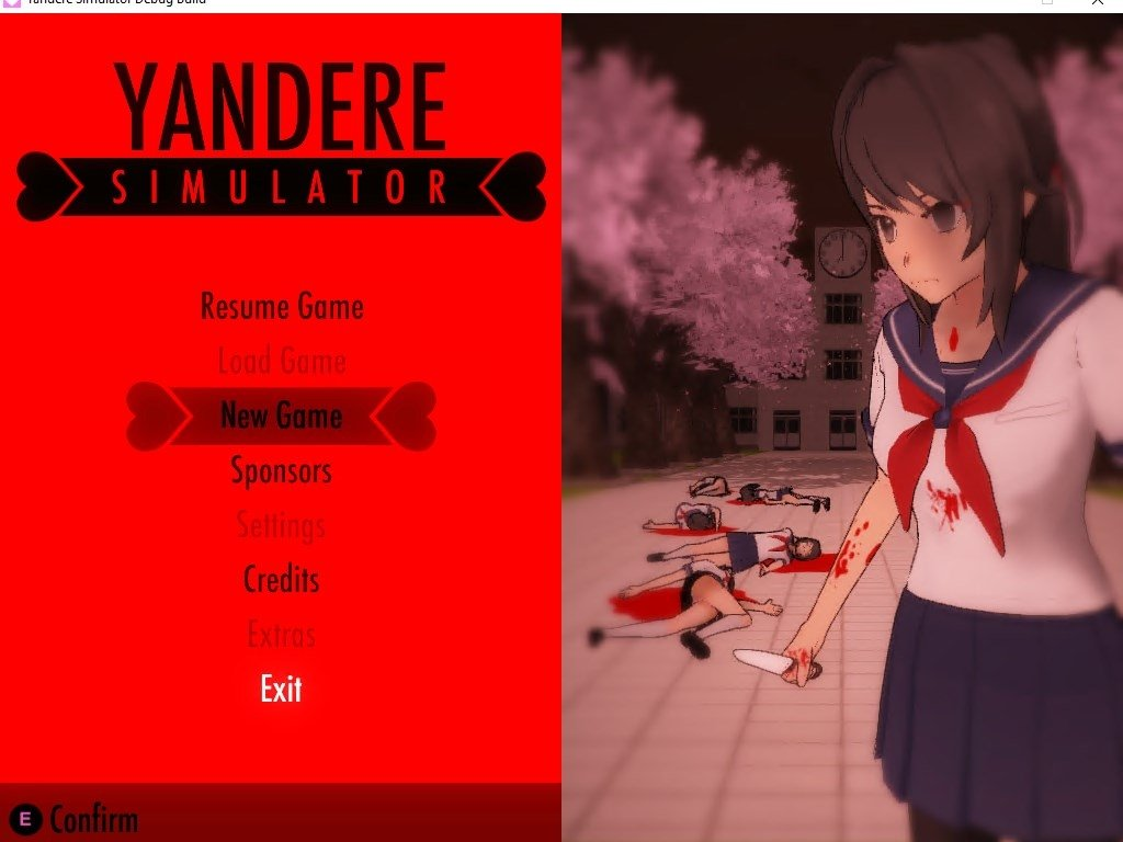 descargar yandere simulator para windows 7 gratis