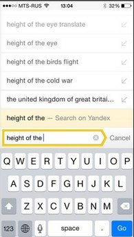 Yandex Browser - Download for iPhone Free