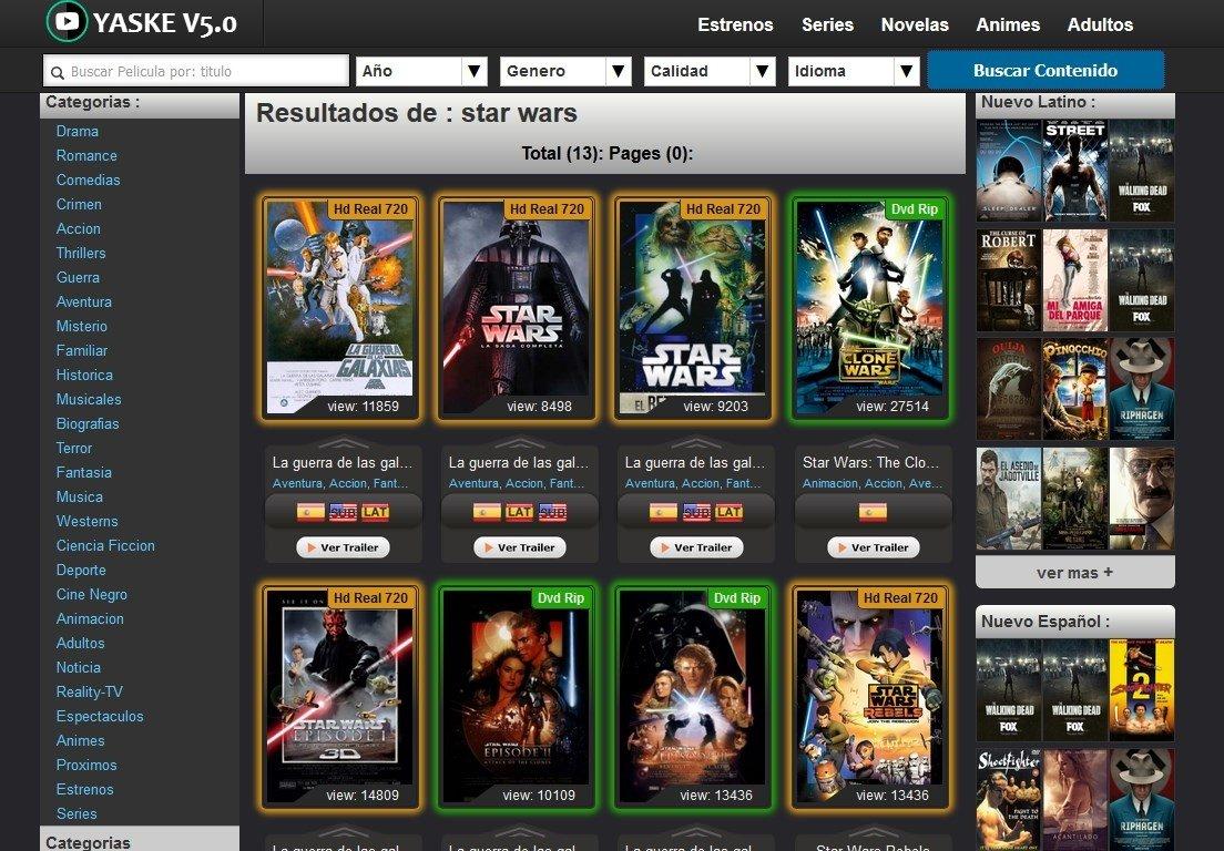 Yaske Online Espanol Gratis Mpeg4 video (h264) 720x300 23.976fps 743kbps audio: yaske online espanol gratis