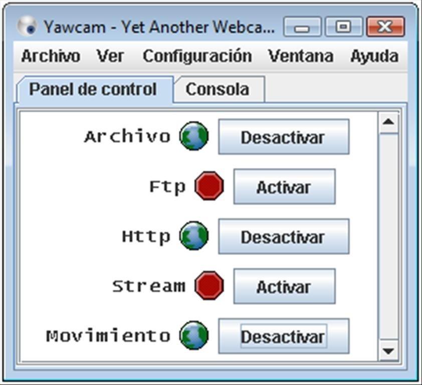 Yawcam image 6