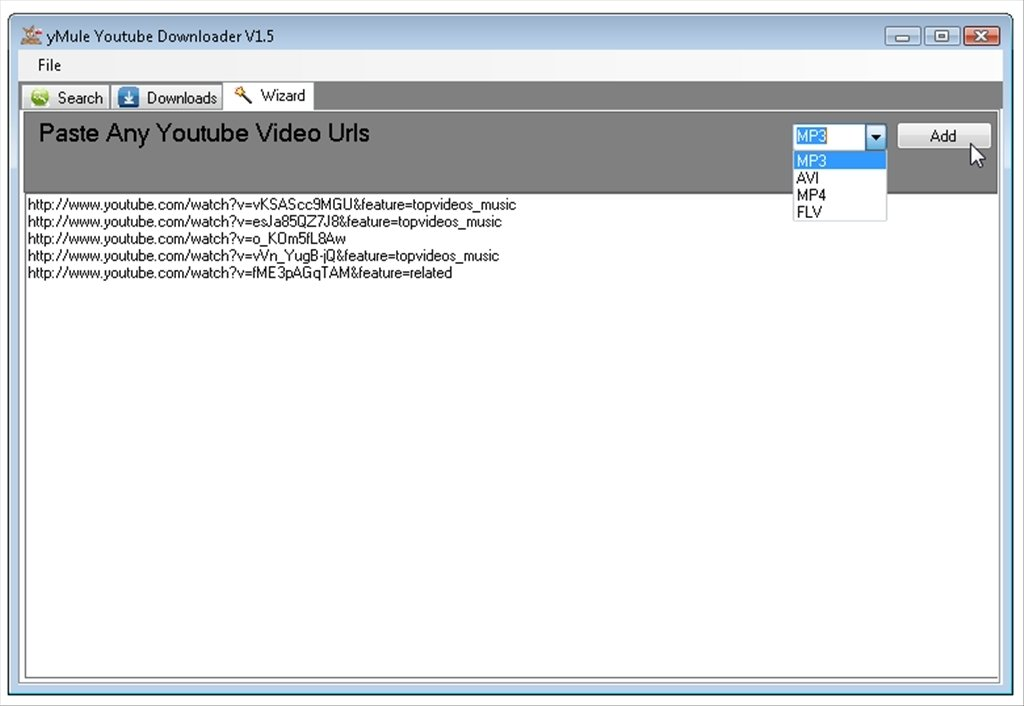 yMule Youtube Downloader 1 9 - Download for PC Free