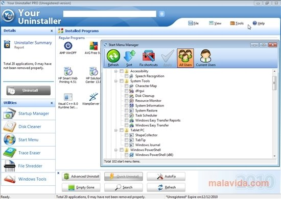 Download free revo uninstaller.