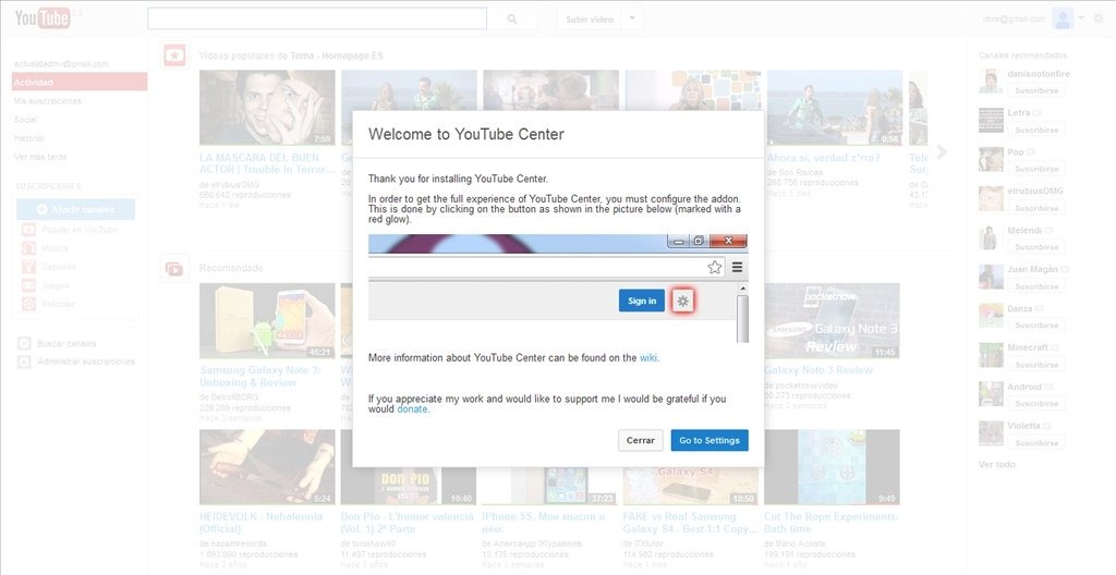 YouTube Center 2 1 0 - Download for PC Free
