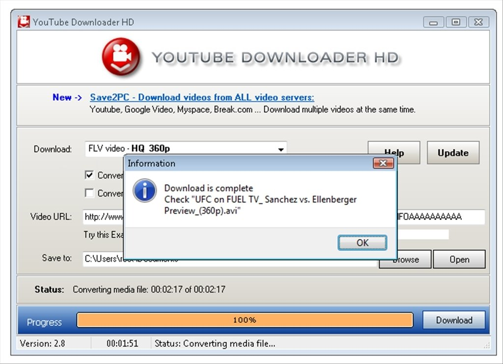 free download for youtube downloader hd descargar