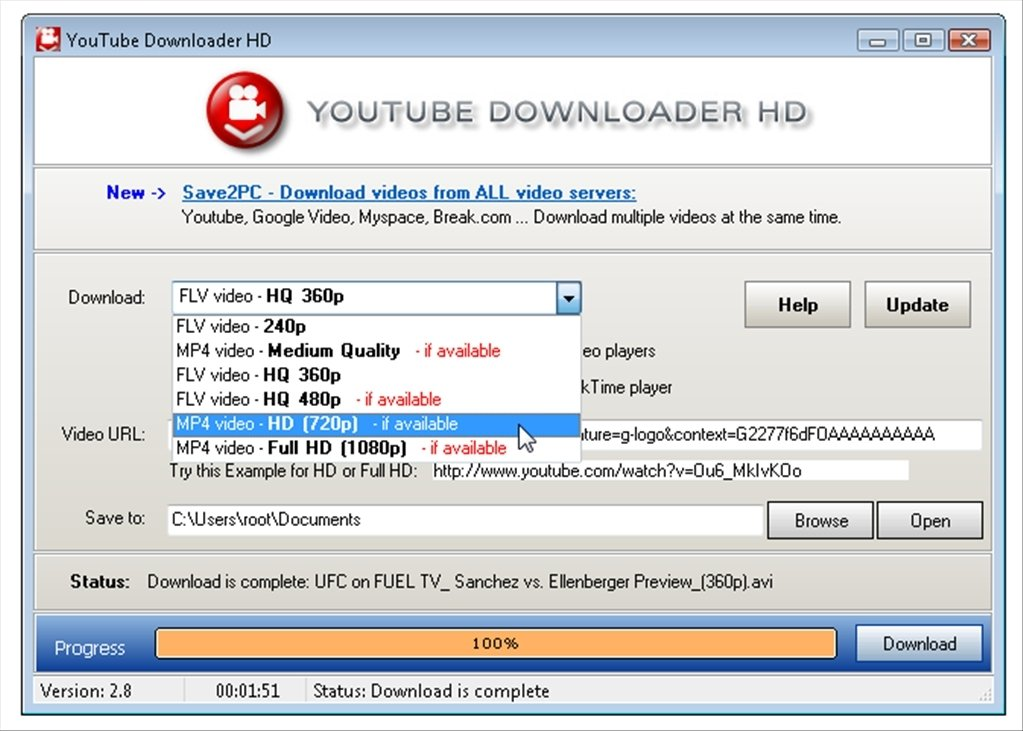 Youtube Downloader Hd 2 9 9 42 Download For Pc Free