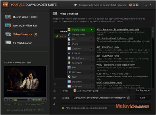 YouTube Downloader Suite 3 5 0 - Download for PC Free
