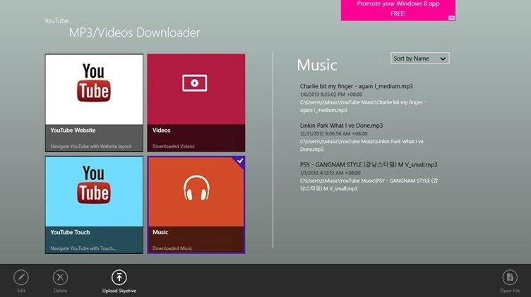 YouTube MP3 & Videos Downloader 1.0.0.14 - Descargar para