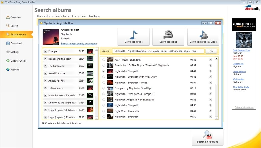 youtube song downloader free download software