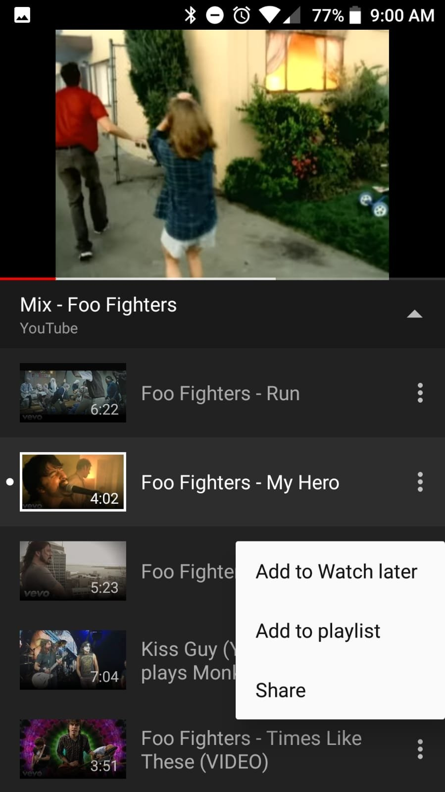 download youtube video playlist android