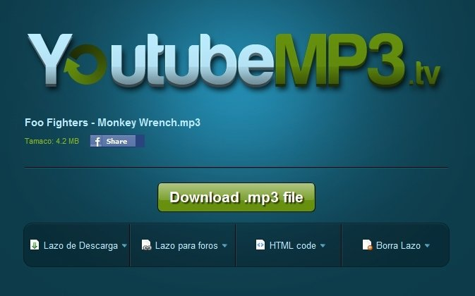 YoutubeMP3 tv Online (English) - Free