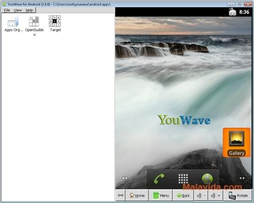 YouWave for Android Home 5 11 - Download for PC Free
