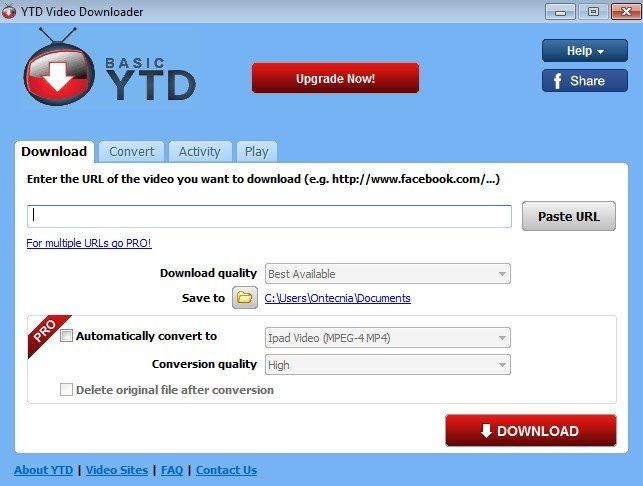 free ytd video downloader download