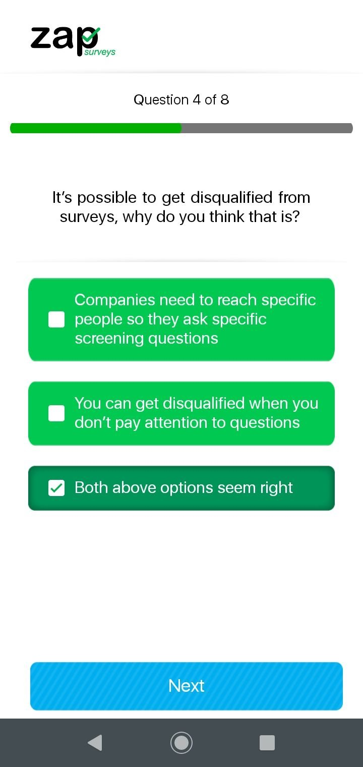 Zap Surveys 1 0 1 7 Download For Android Apk Free
