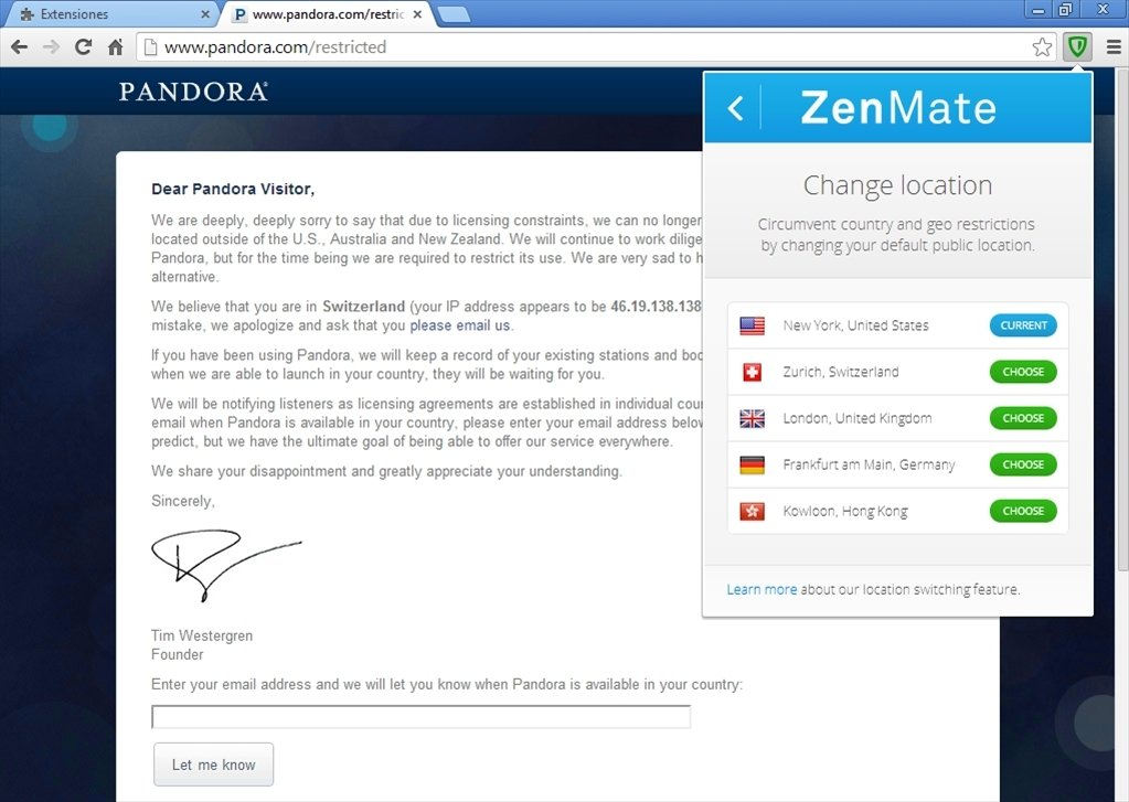 ZenMate 3 49 18 - Download for PC Free