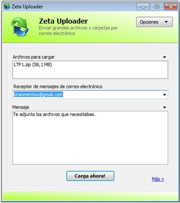 Zeta Uploader image 4