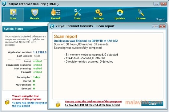 Zillya! Internet Security image 4