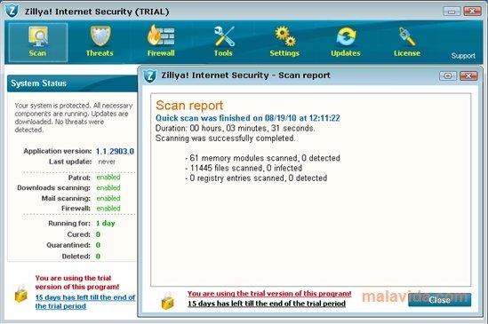 Zillya! Internet Security image 4