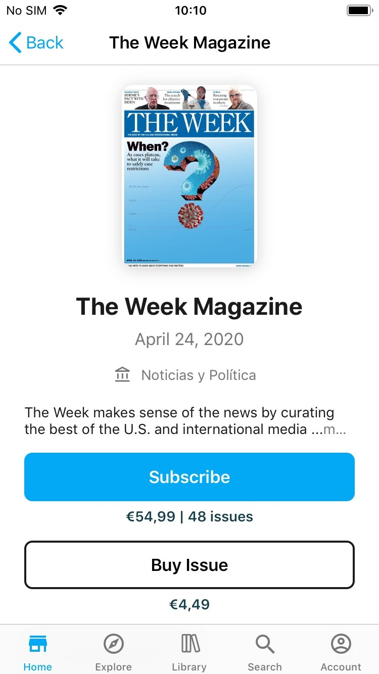 Zinio - The World's Magazine Newsstand - Download for iPhone