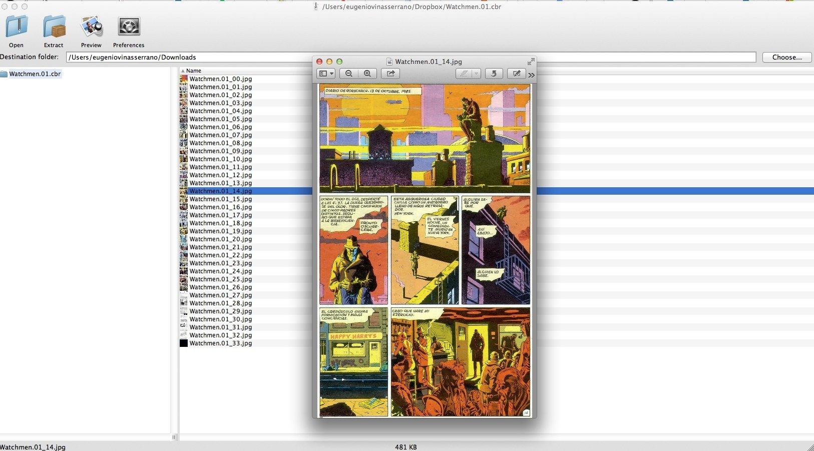 Zipeg Mac image 6
