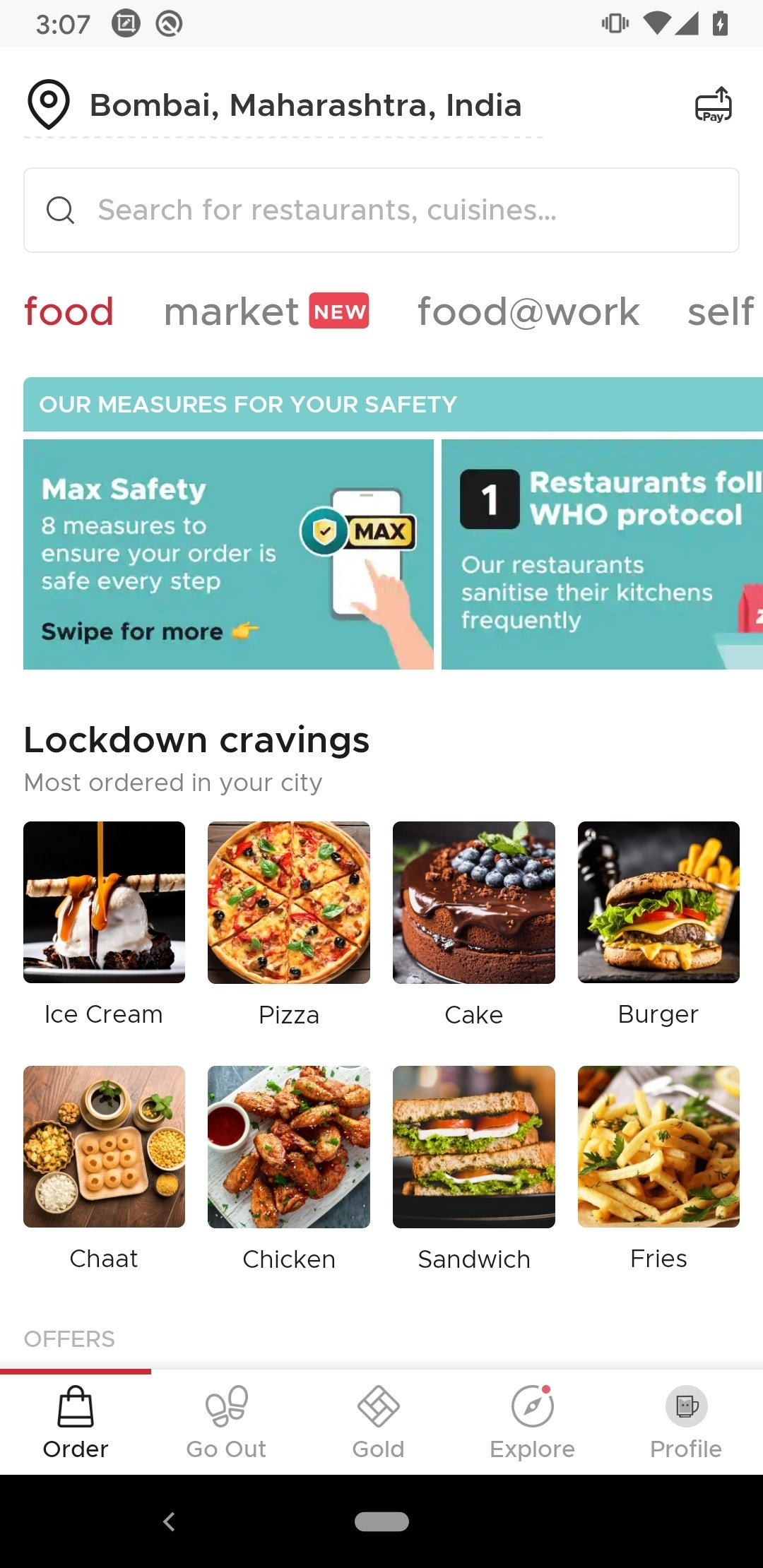 Zomato Android image 5