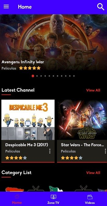 ZonaTV 1 7 - Download for Android APK Free