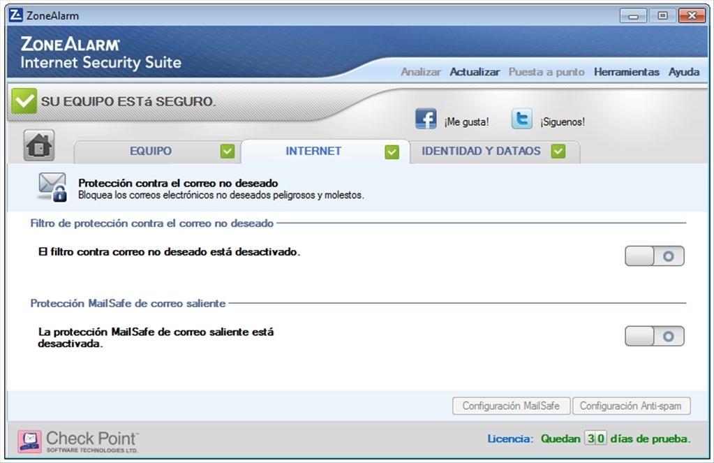 zonealarm internet security suite free download