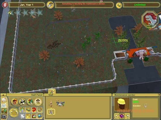 Extinct Animals Zoo Tycoon 2 Demo
