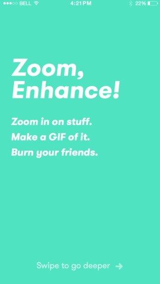 Zoom, Enhance! iPhone image 5