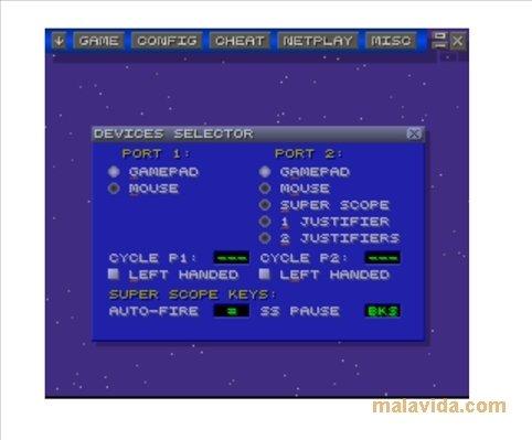 jogos para o emulador zsnes 1.51
