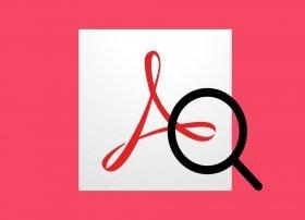 Cómo buscar con Adobe Acrobat Reader en los PDF