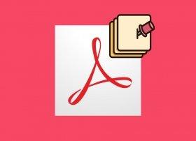 Cómo insertar notas y comentarios en un PDF con Adobe Acrobat Reader