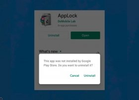 How to uninstall AppLock