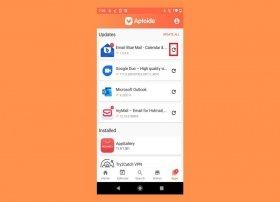 Cómo actualizar tus apps desde Aptoide