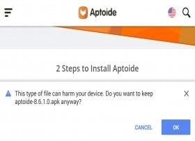 Cómo descargar Aptoide