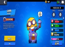 How to unlock and play with Carl in Brawl Stars