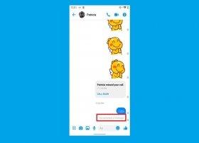 Cómo borrar mensajes enviados con Facebook Messenger