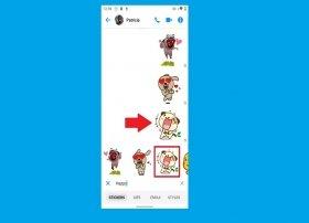 Cómo poner Stickers en Facebook Messenger