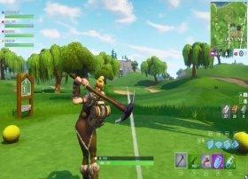 Cómo jugar a golf en Fortnite