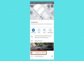 Cómo saber las coordenadas en Google Maps de Android
