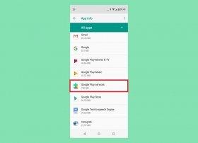 Cómo desinstalar los Servicios de Google Play