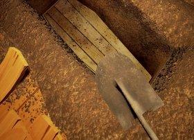 Cómo abrir la tumba secreta y desenterrar al muerto en Hello Neighbor