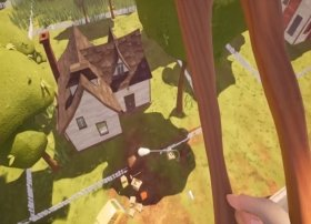 Cómo volar en Hello Neighbor