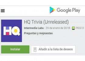 Cómo instalar HQ Trivia en Android