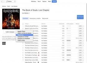 Cómo descargar música en iTunes