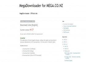 Cómo descargar MegaDownloader